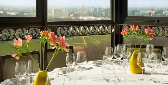 Dine with park views