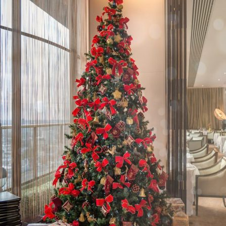 Seasonal celebrations at Galvin at Windows mayfair london