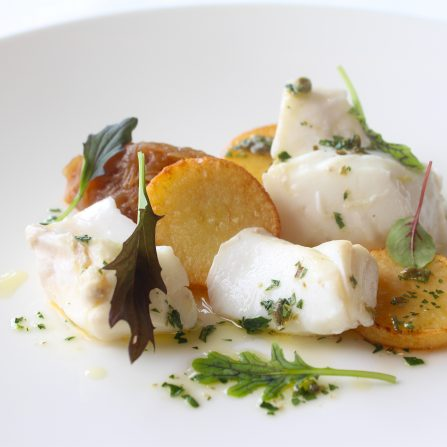 Poached Cod (A)